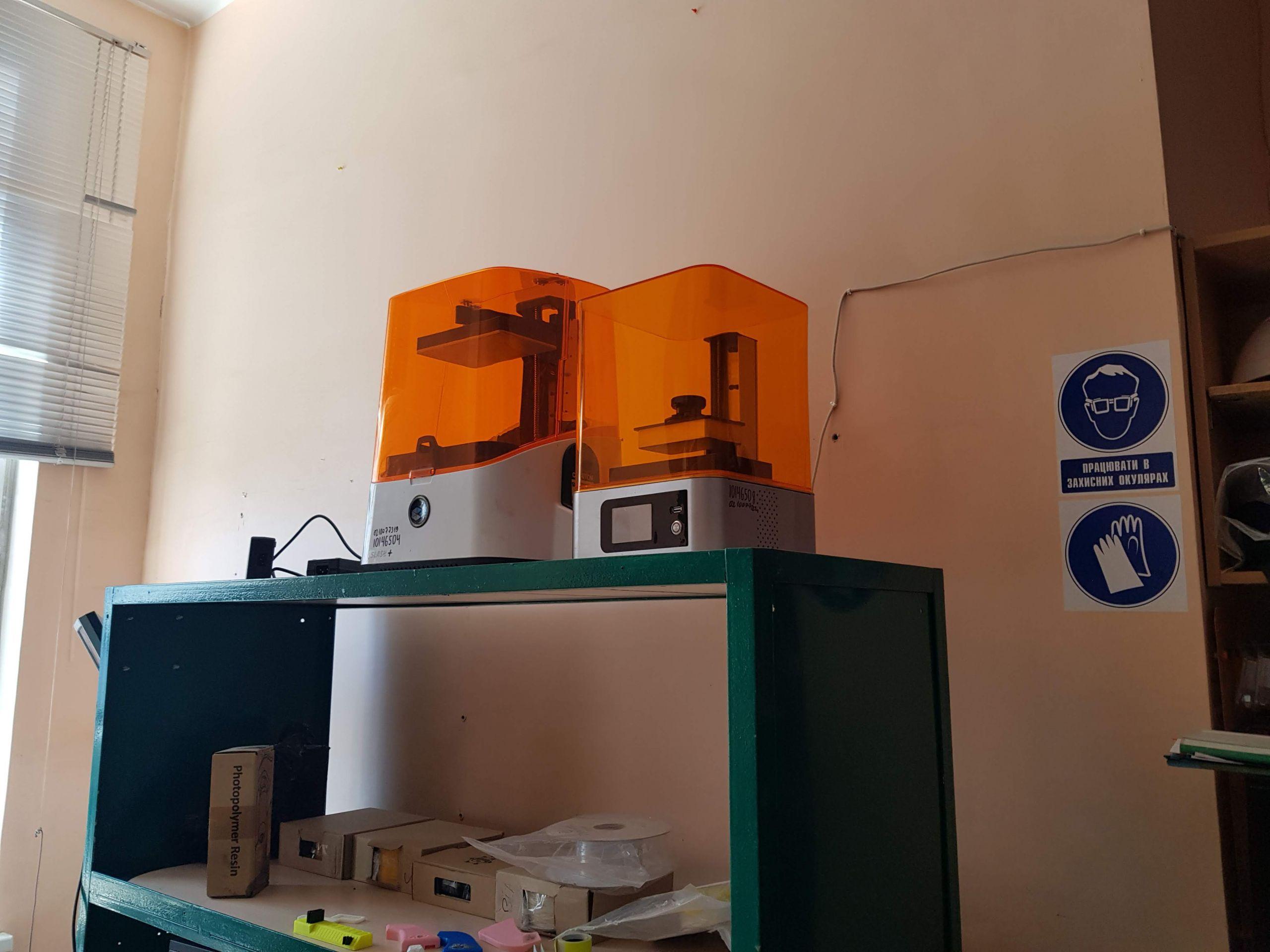 SLA 3D-printers