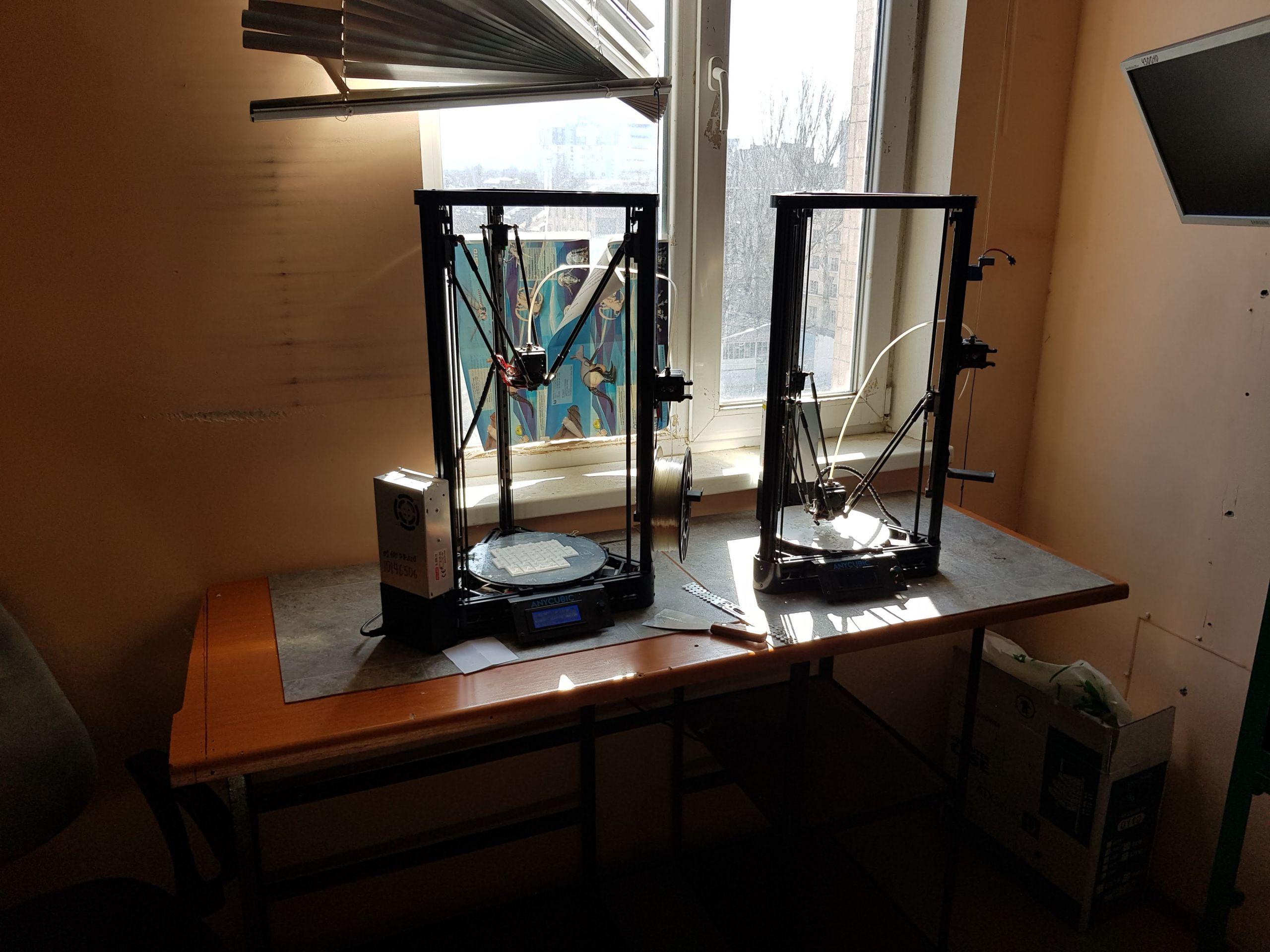 Delta 3D-printers