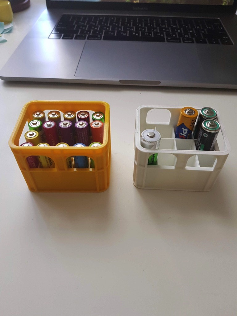 Battery crates
